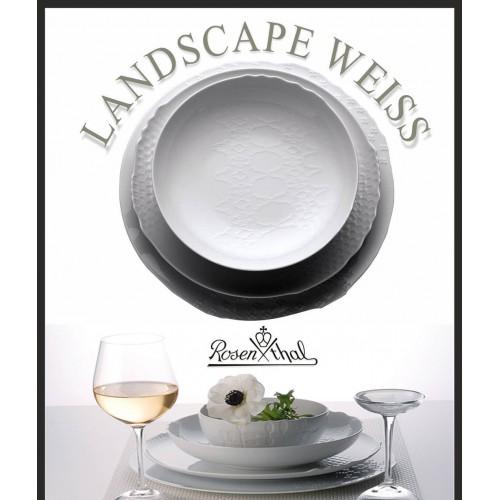 Landscape White 12 Kişilik Yemek Seti