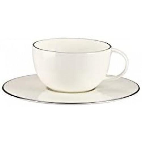 Brillance Ligne Dargent    Tabaklı Çay Fincanı