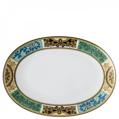 Barocco Mosaic 33 Cm Oval Servis Tabağı