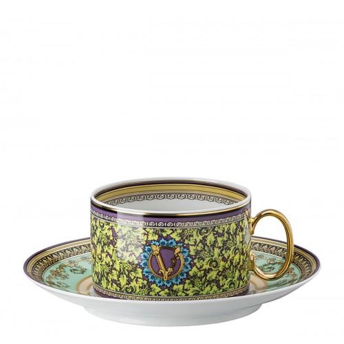 Barocco Mosaic Çay Fincan Ve Tabağı