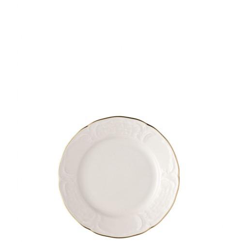 Sanssouci Elfenbein Gold 17  Cm Ekmek Tabağı