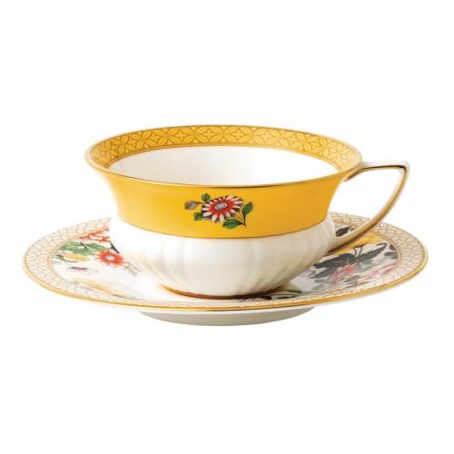 Wonderlust Çay Fincanı ve Tabağı
