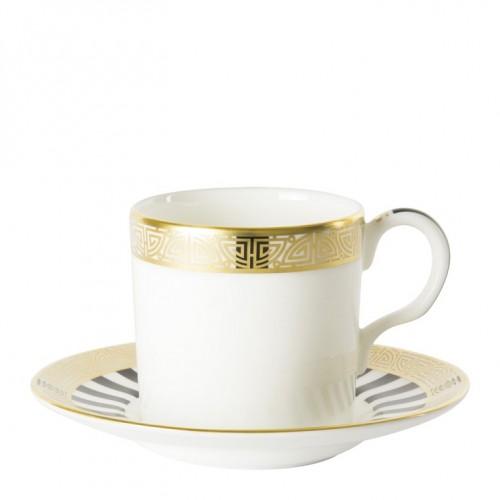Satori Black Tabaklı Kahve Fincanı